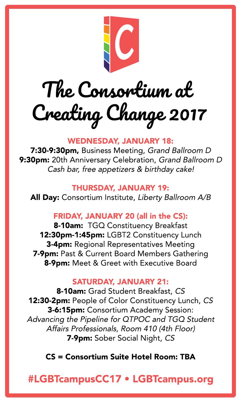 Creating Change 2017